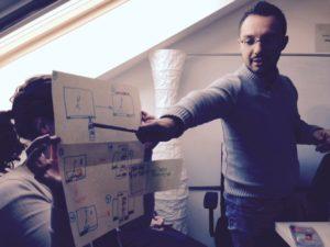 Kostadin Cholakov @ TraMOOC project #iversity — in Berlin, Germany.