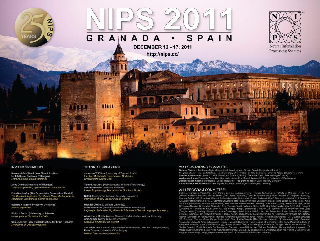 NIPS 2011