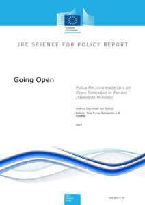 Going Open: Policy Recommendations on Open Education in Europe