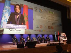 UNESCO Director-General Audrey Azoulay