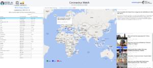Coronavirus Media Watch across the world and per country