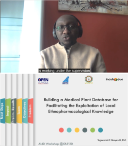 T. Idriss Tinto - Building a Medicinal Plant Database for Preserving Ethnopharmacological Knowledge in the Sahel